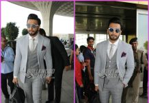 Ranveer Singh looks dapper in formals at airport