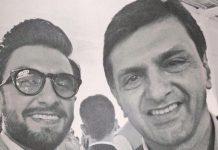 Ranveer Singh shares a selfie with Prakash Padukone