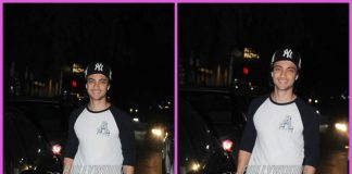 Aayush Sharma all smiles on a casual outing