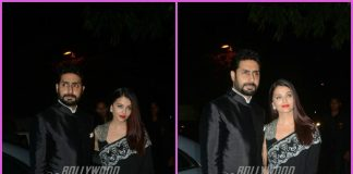 Aishwarya Rai Bachchan and Abhishek Bachchan looked gorgeous together at an event
