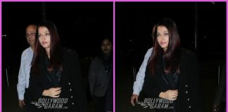 Aishwarya Rai Bachchan makes a stylish appearance at airport