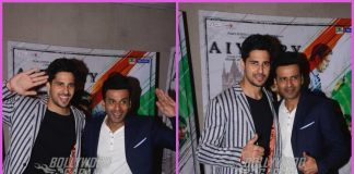 Sidharth Malhotra and Manoj Bajpaye have fun at promotions of Aiyaary
