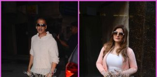 Akshay Kumar and Zareen Khan make a stylish appearance
