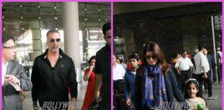 Akshay Kumar, Twinkle Khanna and Nitara return from Cape Town holiday