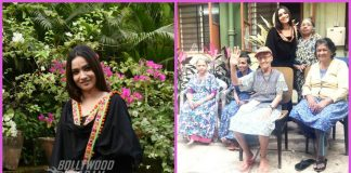 Ankita Lokhande spends time with people at old age home