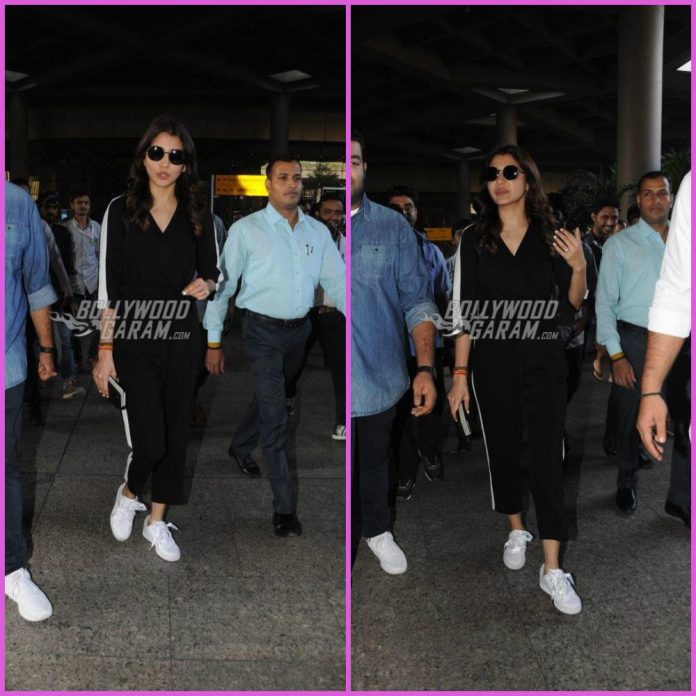 Anushka Sharma airport