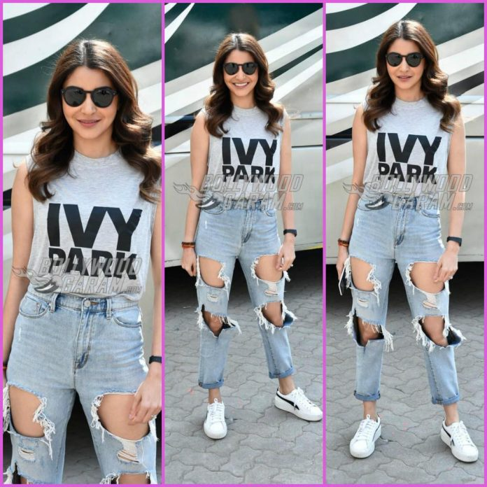 Anushka Sharma shoot