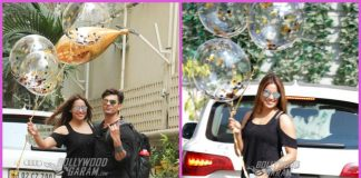 Bipasha Basu poses with balloons on her birthday