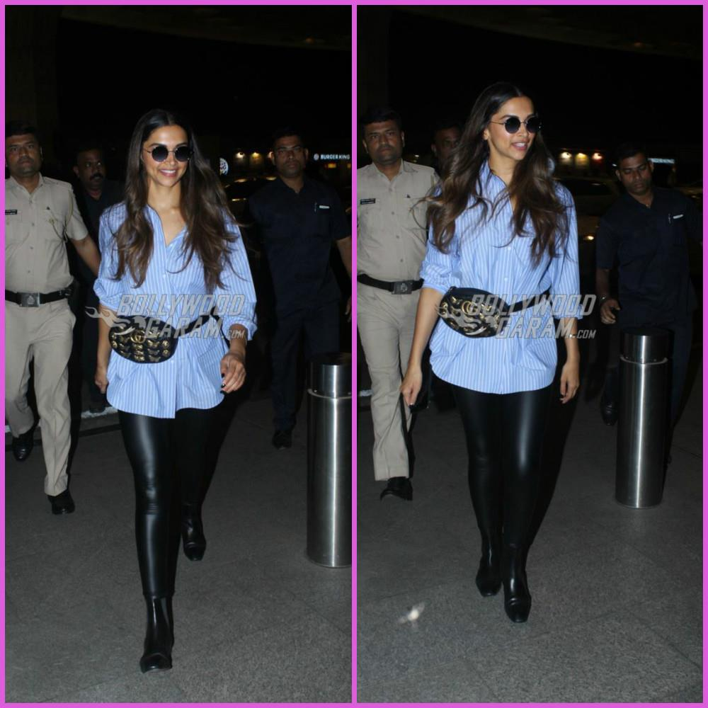 Deepika Padukone dresses up as a traffic cop for a TV shoot