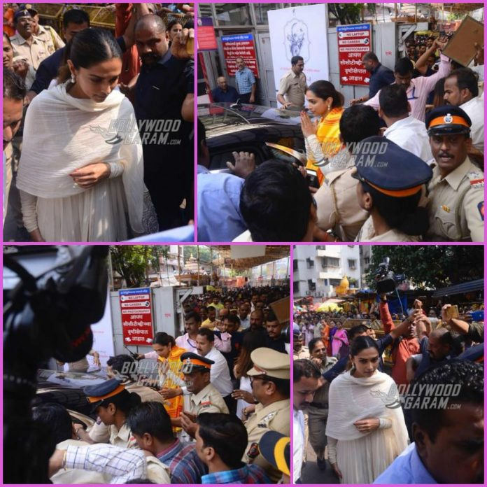 Deepika padukone siddhivinayak