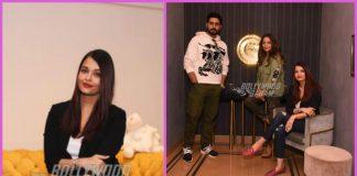 Aishwarya Rai Bachchan and Abhishek Bachchan visit Gauri Khan's store