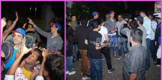 Fans wish Hrithik Roshan on is 44th birthday at his residence