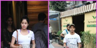 Janhvi Kapoor and Ishaan Khatter spend casual time over lunch