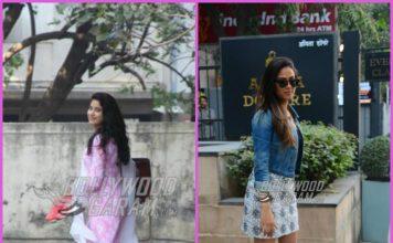 Janhvi Kapoor and Mira Rajput make a stylish appearance