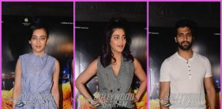 Shruti Haasan and sister Akshara Haasan grace Kaalakaandi special screening