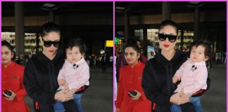 Kareena Kapoor and Taimur Ali Khan return from Gstaad vacation