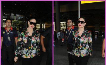 Kareena Kapoor makes a glamorous return from Qatar