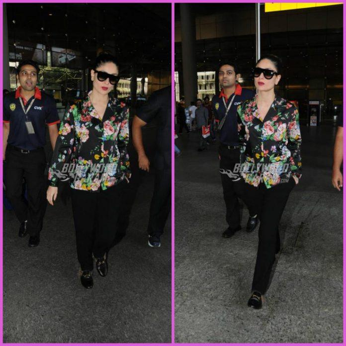 Kareena Kapoor airport