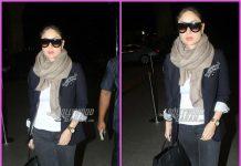 Stylish Kareena Kapoor heads to Qatar