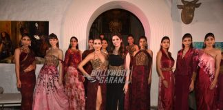 Malaika Arora turns showstopper for designer Rebecca Dewan