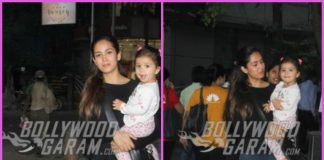Misha Kapoor enjoys media attention with mother Mira Rajput