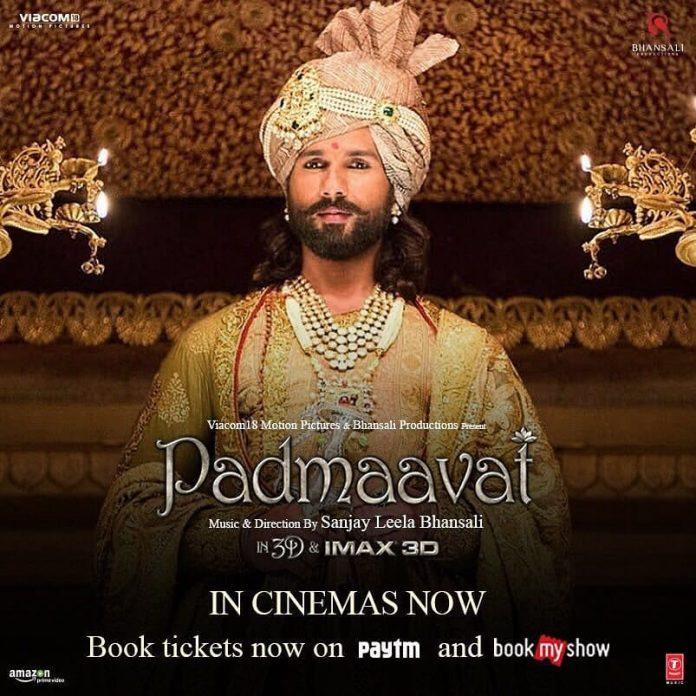Padmaavat release