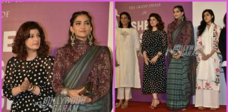 Sonam Kapoor and Twinkle Khanna promote Padman together
