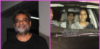 Akshay Kumar screens Padman for family