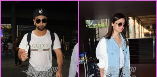 Ranbir Kapoor and Alia Bhatt return from Tel Aviv