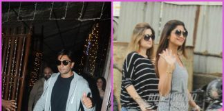 Shilpa Shetty spends casual time while Ranveer Singh busy at work at dubbing studio