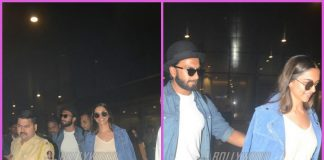 Deepika Padukone and Ranveer Singh return from holiday at Maldives