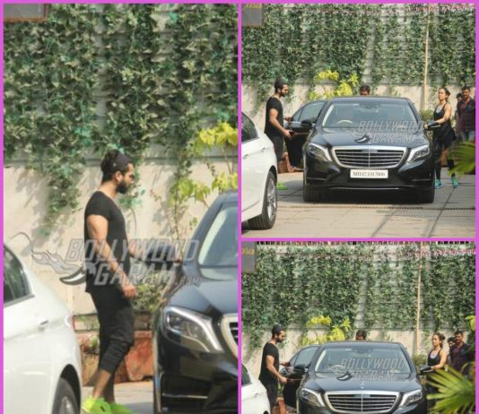 Shahid Kapoor and Mira Rajput hit the gym together