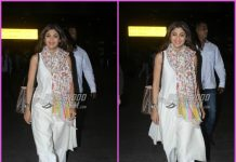 Shilpa Shetty makes an elegant appearance at airport
