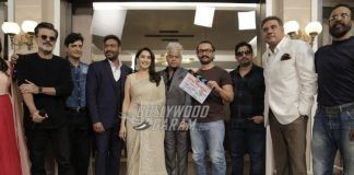 Aamir Khan gives mahurat clap for Total Dhamaal
