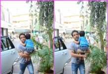 Tusshar Kapoor makes a trip to gym with son Laksshya