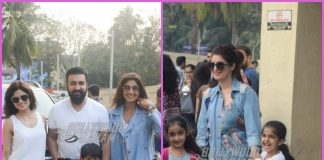 Shilpa Shetty and Twinkle Khanna spend weekend with family