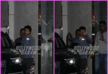 Varun Dhawan waves and smiles for the cameras post workout