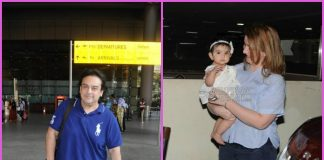 Adnan Sami received by daughter and wife at airport
