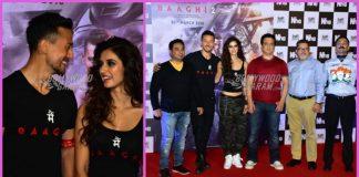 Tiger Shroff and Disha Patani made a gorgeous presence at Baaghi 2 trailer launch