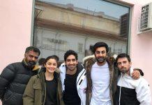 Alia Bhatt, Ranbir Kapoor and Ayan Mukerji have a great time shooting Brahmastra