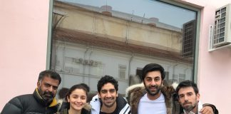 Alia Bhatt, Ranbir Kapoor and Ayan Mukerji have a great time shooting Brahmastra