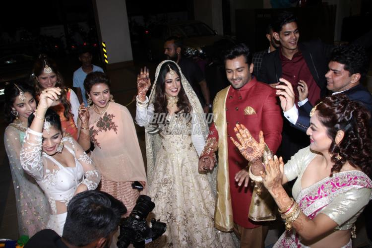 In pics: Dipika and Shoaib's dreamy wedding reception