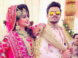 Shoaib Ibrahim and Dipika Kakkar looks gorgeous as newly weds