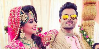 Shoaib Ibrahim and Dipika Kakkar looks gorgeous as newly weds