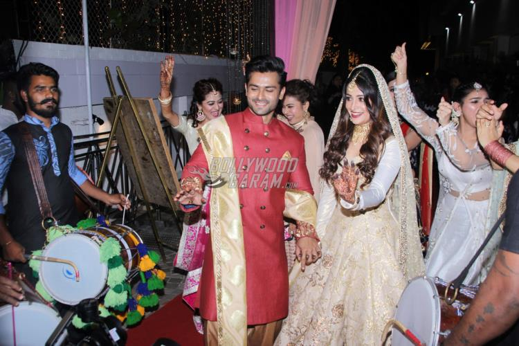 A dreamy wedding! Dipika Kakar and Shoaib Ibrahim's reception pictures are unbelievable