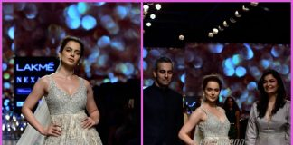 Lakme Fashion Week 2018 – Kangana Ranaut turns showstopper for Shyamal and Bhumika