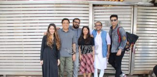 Karan Johar, Anurag Kashyap, Ronnie Screwvala and Dibakar Banerjee gather at Zoya Akhtar's house
