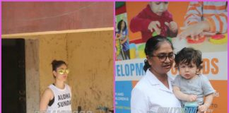 Kareena Kapoor hits gym while son Taimur Ali Khan finishes play gym