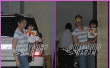 Kareena Kapoor spends Sunday time with son Taimur Ali Khan