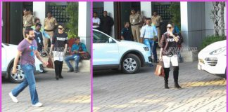 Kareena Kapoor, Karisma Kapoor and Saif Ali Khan make a stylish return from Goa